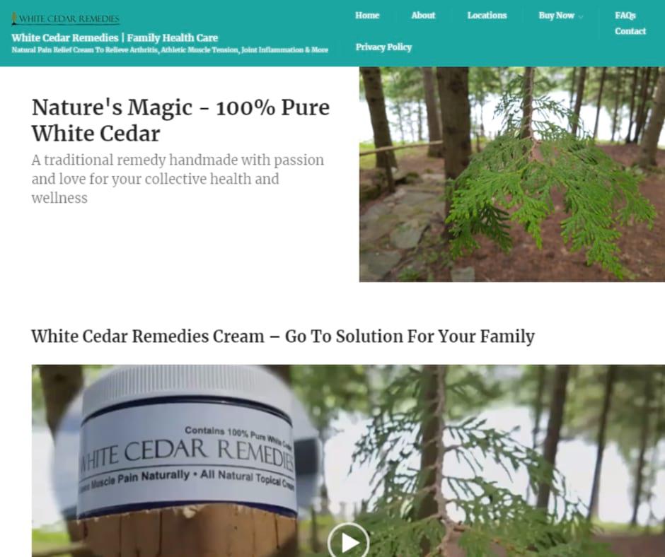 Pain Relief White Cedar